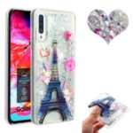 Embossed Quicksand TPU Cell Shell for Samsung Galaxy A50 – Eiffel Towel