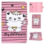 Pattern Leather Tablet Case for Samsung Galaxy Tab A 10.5 (2018) T590 T595 – Princess Cat