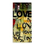 Pattern Printing TPU Back Case for Samsung Galaxy Note 10 Plus – LOVE Pattern