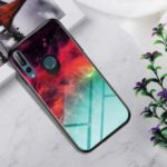 Gradient Color Tempered Glass + PC + TPU Hybrid Case for Huawei P Smart Z / Y9 Prime 2019 – Colorful Nebula