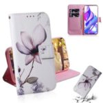Printing Skin Leather Phone Case for Huawei Honor 9X/9X Pro – Lotus