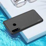 X-LEVEL Matte Texture TPU + Plastic Hybrid Phone Cover Case for Huawei P30 Lite / Nova 4e – Black
