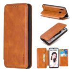 HAOXFA.W Detachable 2-in-1 Magnet Leather Wallet Phone Case with Stand for Huawei P Smart (2019)/Nova Lite 3 – Brown