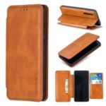 HAOXFA.W Detachable 2-in-1 Magnet Leather Wallet Phone Case for Huawei P30 – Brown