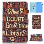 Patterned Leather Stand Tablet Case for Huawei MediaPad M6 8.4-inch – Style A