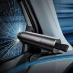 BASEUS Sharp Tool Safety Hammer with Broken Window + Cut Seat Belt Function – Dark Grey