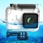PULUZ 45M Underwater Waterproof Housing Diving Case for Xiaomi Xiaoyi II 4K Action Camera, with Buckle Basic Mount & Screw