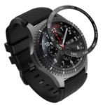 Stylish Cool Metal Watch Frame for Samsung Gear S3 Frontier – Black/White