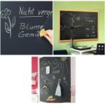 60x200cm Wallpaper Blackboard Waterproof Chalkboard Wall Paper Decal Removable Sticker