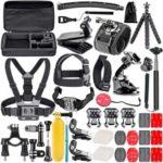 50pcs Camera Accessories Cameras Protection Tool Set for GoPro Hero 6 5 4 3+ 3 2 1 Hero Session 5 Black AKASO EK7000 Apeman SJ4000 5000 6000 Outdoor Photography
