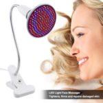 LED Light Photon Skin Rejuvenation Therapy Face Massager Lamp Holder Facial Anti Acne Wrinkle Removal – US Plug
