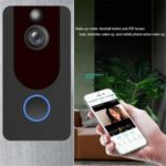 V7 Intelligent WIFI HD 1080P Wireless Video Doorbell Home Security Monitoring Intercom