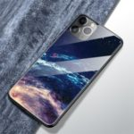 Pattern Printing Tempered Glass + TPU Back Shell for iPhone 11 Pro 5.8 inch (2019) – Cosmic Space