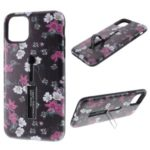 Embossment Pattern Printing TPU + PC Hybrid Shell with Kickstand for iPhone 11 6.1 inch (2019) – Pattern A