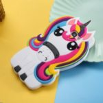 Unicorn Pattern Printing Silicone Phone Cover for Samsung Galaxy J4+/J4 Plus