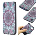 Pattern Printing Embossed TPU Shell Case for Xiaomi Redmi 7A – Symmetric Pattern