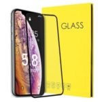 Full Screen Tempered Glass Screen Protector for iPhone 11 Pro Max 6.5 inch (2019) – Black