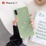 Heart Patterned TPU Case for iPhone 6 6s 6 Plus 6s Plus 7 8 7 Plus 8 Plus X XS XR XS Max – Yellow Heart/For iPhone 8/7