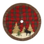105cm Christmas Tree Skirt Mat Christmas Holiday Party Decoration