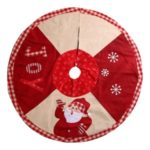 102cm Christmas Tree Skirt Mat Christmas Holiday Party Decoration