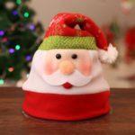 Santa Claus Elk Deer Bear Children Adults Non-woven Fabric Party Decorative Hat – Santa Claus