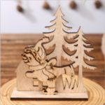 Wood Christmas Ornament Table Decoration DIY Craft – Snowman