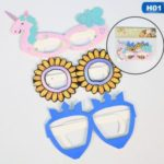 Children Birthday Party Baby Mask Festival Costume Halloween Glasses – Unicorn