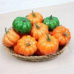 8cm Mini Foam Simulation Pumpkin Halloween Decoration