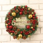 Christmas Pine Garland Decor Decoration Tree Ornament for Home Hotel Shopping Mall