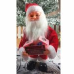 Christmas Santa Claus Doll Xmas Dancing Electric Toy – Red