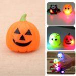 Halloween Gift Finger Lights Toys Party Decoration Kids Toys Pumpkin Bat Ring – Pumpkin