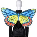 Women Men Halloween Carnival Adult Party Costume Butterfly Wing – Multi-color
