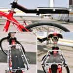 Aluminum Alloy MTB Bike Seat Post Rear Shelf Bicycle Carrier Rack