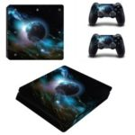 PS4 Slim Game Machine Accessories Stickers No Air Bubbles – Style 2