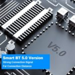 V5 TWS Bluetooth 5.0 Headphones Wireless Sports Music Headset Earphones with Earhooks – Black/Silver