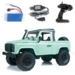 MN-D91 Rock Crawler 1/12 4WD 2.4G Remote Control High Speed Off-Road Truck RC Car Led Light RTR – Green