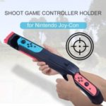Shoot Game Controller Holder for Nintendo Switch Joy-Con Shooting Games Wolfenstein 2 Shooting Games – Black