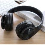 Foldable Wireless Bluetooth Over-ear Stereo Headset Headphone – Black