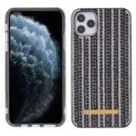 Bling Rhinestone Decor PC + TPU Phone Case for Apple iPhone 11 Pro Max 6.5-inch – Black