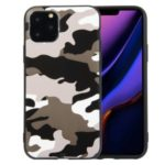 For iPhone 11 6.1 inch Camouflage Surface TPU Casing – White
