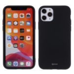 ROAR Matte Skin Fluorescence TPU Phone Case for iPhone 11 Pro Max 6.5-inch – Black