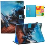 Pattern Printing PU Leather Stand Wallet Protective Tablet Case for iPad Pro 10.2 – Reflection