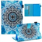 Pattern Printing Wallet Stand Leather Tablet Case for Samsung Galaxy Tab A 8.0 (2019) with S Pen SM-P200/P205 – Malanda Flower