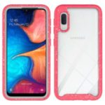 Starry Sky Shockproof Clear Phone Case for Samsung Galaxy A10e – Red
