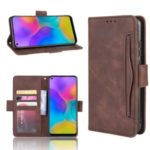 Wallet Leather Stand Case for Huawei Honor Play 3 – Brown