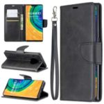 Wallet Leather Phone Case Covering with Stand for Huawei Mate 30 Pro – Black