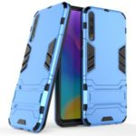 Plastic + TPU Hybrid Case with Kickstand for Huawei Honor Play 3 – Baby Blue