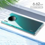 X-LEVEL Anti-slip Soft TPU Cell Phone Protection Case for Huawei Mate 30 – Transparent
