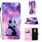 Pattern Printing PU Leather Wallet Protective Case for Xiaomi Redmi K20 Pro / Mi 9T Pro / Redmi K20 / Mi 9T – Sad Panda