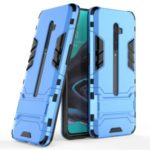 Plastic + TPU Combo Case with Kickstand for OPPO Reno2 – Baby Blue